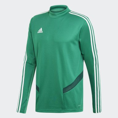 Men Gym & Training Green Tiro 19 Training Top