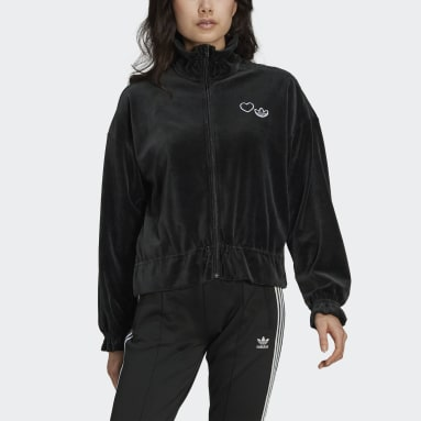 Women Originals Black Track Jacket