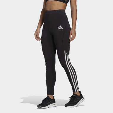 Women Sportswear Black adidas Sportswear Colorblock Leggings