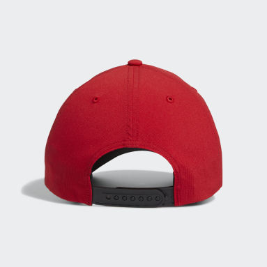 Men Golf Red Performance Cap