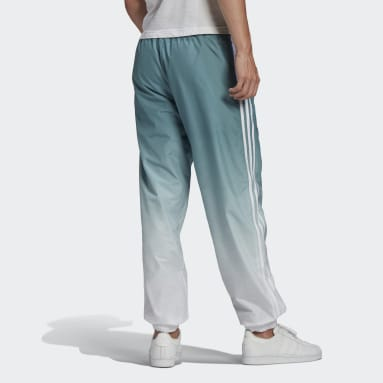 Men Originals White Adicolor 3D Trefoil 3-Stripes Ombré Tracksuit Bottoms