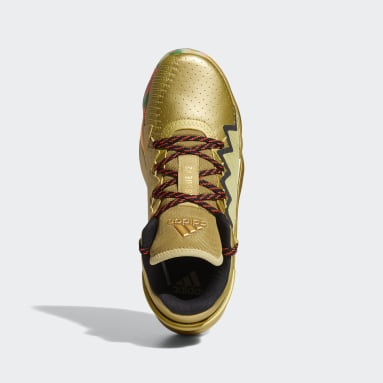 Men Basketball Gold D.O.N. Issue #2 Gummy Shoes