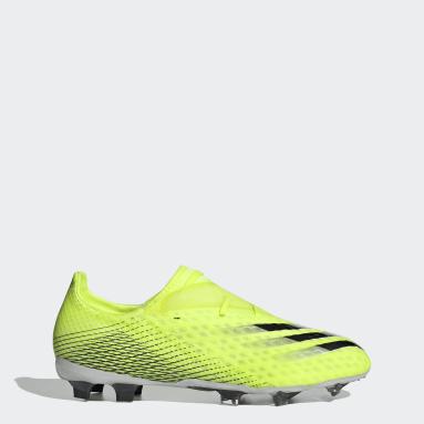 Zapatos de Fútbol X Ghosted.2 Terreno Firme Amarillo Hombre Fútbol