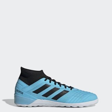 Soccer Turquoise Predator Tango 19.3 Indoor Shoes