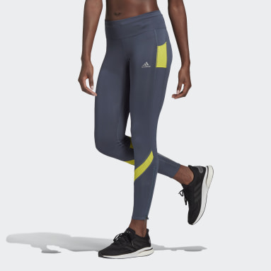 Women's Running Green Own the Run Tights