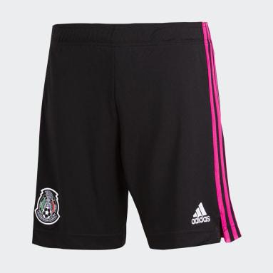 Shorts Titulares México 2020 Negro Hombre Fútbol