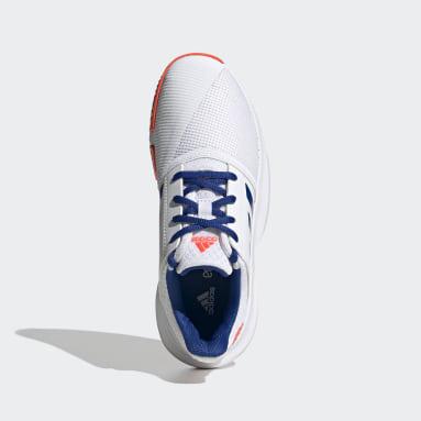 Zapatillas CourtJam Blanco Niño Tenis