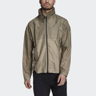 Men TERREX Green Terrex TX MS Windweave Windbreaker