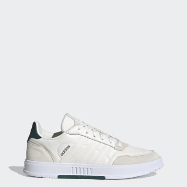 Men Tennis White Courtmaster Shoes