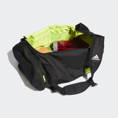 Tennis Black 4ATHLTS ID Duffel Bag Small