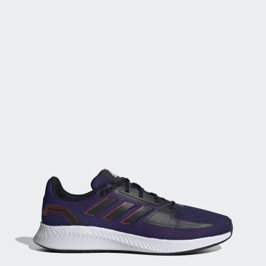 Men Running Purple Runfalcon 2.0 Shoes