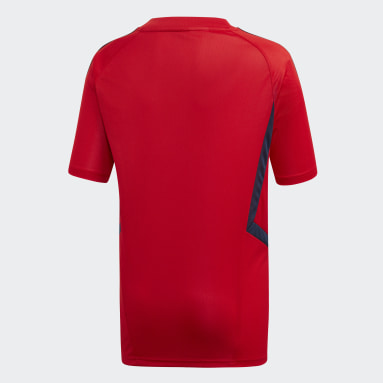 Youth Soccer Red Arsenal Training Jersey