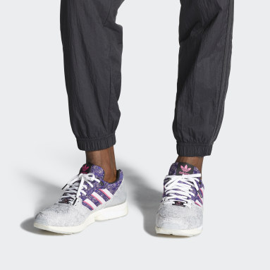 Men Originals Silver ZX 5000 Vieux Lyon Shoes