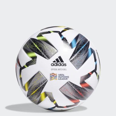 Bola Pro UEFA Nations League Branco Futebol