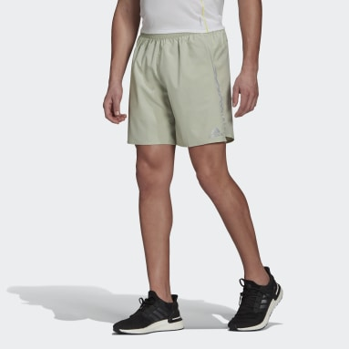 Men Running Green Saturday Shorts