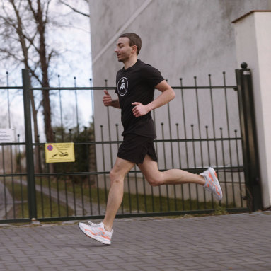 Tenis SolarBoost 3 Gris Hombre Running