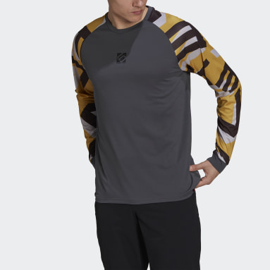 Maglia Five Ten TrailX Long Sleeve Grigio Uomo Five Ten