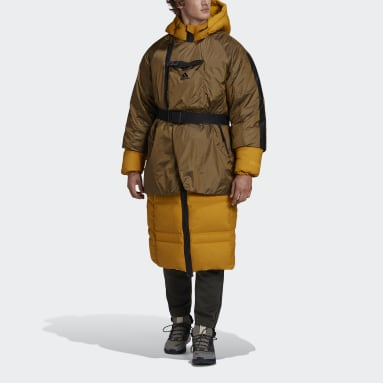 Männer City Outdoor Prime COLD.RDY Daunenparka Gold