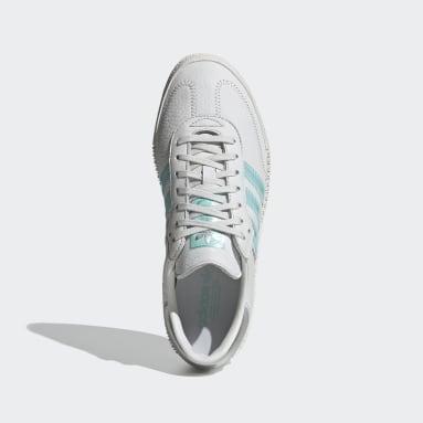 Scarpe SAMBAROSE con cristalli Swarovski® Bianco Donna Originals