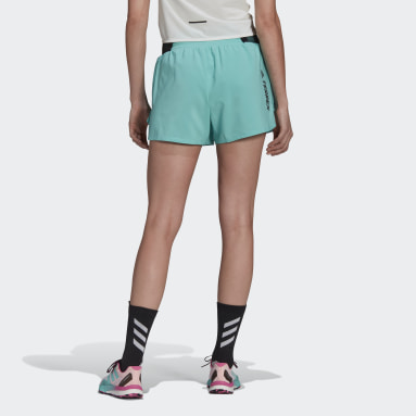 Frauen TERREX TERREX Parley Agravic All-Around Shorts Grün