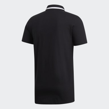 Männer Rugby All Blacks Supporters Trikot Schwarz