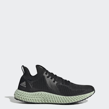 Running Black Alphaedge 4D Reflective Shoes