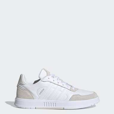 Women Sport Inspired White Courtmaster Shoes