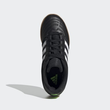 Boys Football Black Super Sala Boots