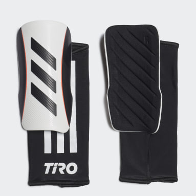 Soccer White Tiro League Shin Guards