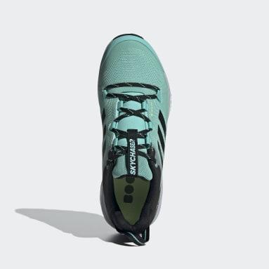 Women TERREX Green Terrex Skychaser GORE-TEX 2.0 Hiking Shoes