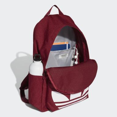 Originals Burgundy Adicolor Classic Backpack