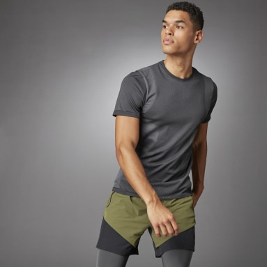 Men Studio Black Studio Techfit Seamless Short Sleeve Tee​​