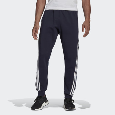 Men Sportswear Blue adidas Sportswear 3-Stripes Sweat Tracksuit Bottoms