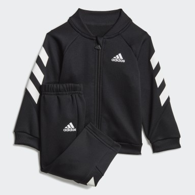 Kids Gym & Training Black Mini Me XFG Track Suit
