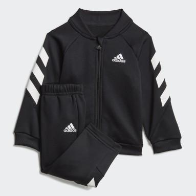 Kinder Fitness & Training Mini Me XFG Trainingsanzug Schwarz