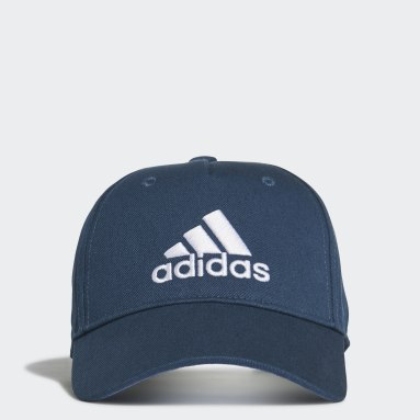 Youth 8-16 Years Gym & Training Blue Graphic Cap