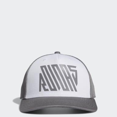 Boys Golf White Trucker Hat