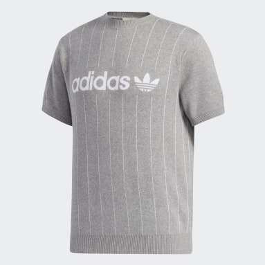 T-shirt FA Pinstripe Gris Hommes Originals