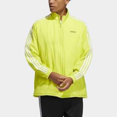 Men Originals Yellow Reverse Track Jacket