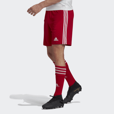 Men Football Red Squadra 21 Shorts
