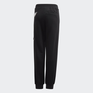 Girls Sportswear Black Collegiate Pants