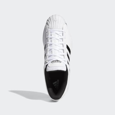 Basketball White Pro Model 2G Low Shoes
