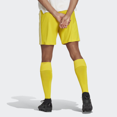 Short Squadra 21 Jaune Hommes Football