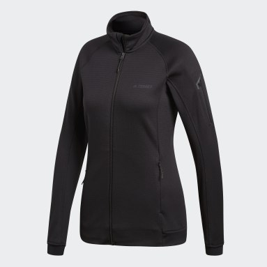 Campera polar Terrex Stockhorn Fleece Negro Mujer TERREX