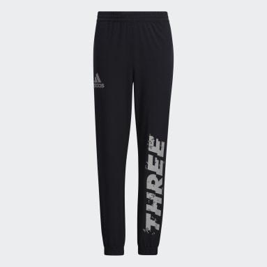 Boys Lifestyle Black Woven Pants