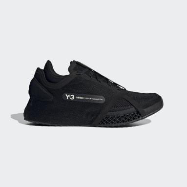 Y-3 černá Boty Y-3 Runner 4D IOW
