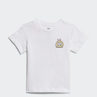 Infant & Toddler Originals White adidas Originals x Kevin Lyons Tee