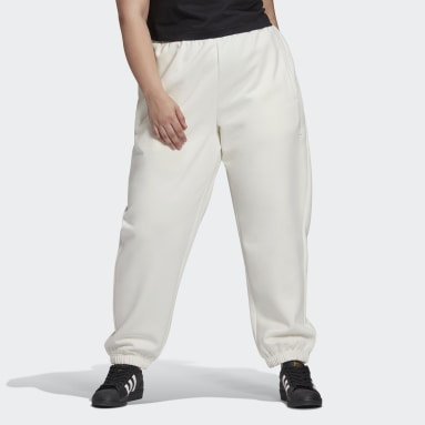 Pantaloni Cuffed Bianco Donna Originals