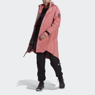 Dames City Outdoor Roze MYSHELTER RAIN.RDY Parka