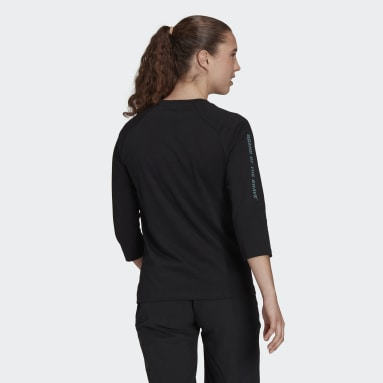 Maglia Five Ten Graphic 3/4 Sleeve Nero Donna Five Ten